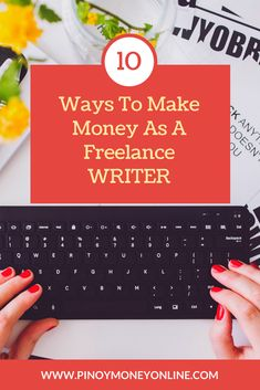 Do you know that you can make good money online by writing about what you love doing? Here are 10 ways to step up and specialize your knack for writing. Make Money Fast, Make Money From Home, Writing Skills, Writing Tips, Online Writing Jobs, Make Money Writing, Blog Topics, Article Writing, How To Start A Blog