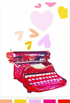 I want to type with an old typewriter!!