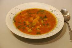 Spicy Tomato and Kabocha Squash Soup / Instant Pot Recipe