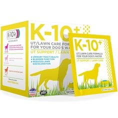 K-10  UT Support/Lawn Care Formula for Your Dogs Water (Pack of 28) * See this great image  (This is an amazon affiliate link. I may earn commission from it)