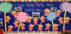 How can you save the earth? Check out this great bulletin board idea. She used CTP's Playful Pattern Border!