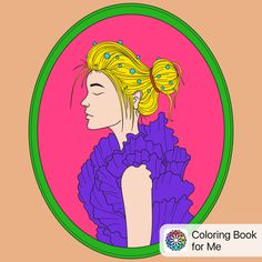 Colored with: #coloringbookforme