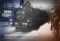 TOUCH ten obraz: Wjazd pociągu na stację w La Ciotat, reż. Bracia Lumiere by Aplikacje mobilne w kulturze i edukacji