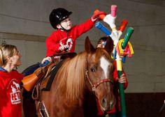 Equine therapy at Nebraska Horse Expo 2013 -- JournalStar.com
