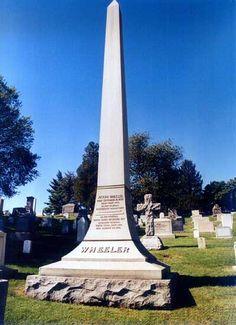 Joseph Fightin' Joe Wheeler, CSA General, and later Congressman, Arlington National Cemetery.