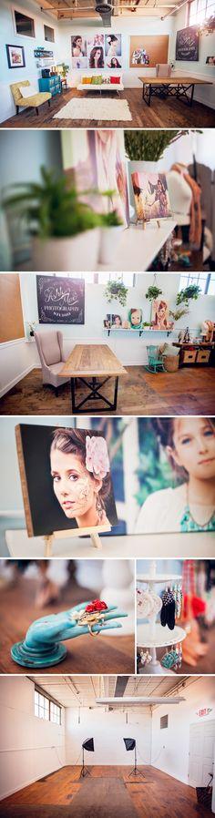 Photography Studio, love the floors