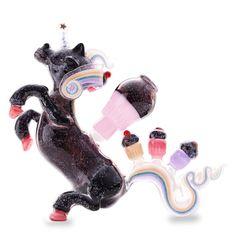 Amy Likes Fire Crushed Opal Unicorn! #unicorn #unicornpipe #cupcakes #unicorncupcake #cupcakepipe #sparkles #sparklepipe #glasspipesforgirls #glasspipe