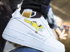 Cartooon one's #nike #af1 #af1custom #customsneakers