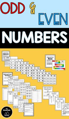 Odd and Even Numbers Number Activities, Sorting Activities, Activities For Kids, Tools For Teaching, Teaching Kids, Odd And Even Games, Number Chart, Learn Faster, Alphabet Worksheets