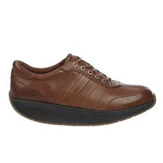 Men's Daudi Toffee: Low-profile, low-key, made to move with hi-quality materials. Full grain leather uppers finished with a microfiber footbed, our signature MBT patented rocker sole and Vibram outsole.