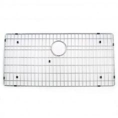 Optimum Series Bottom Grid for Single Well Rectangular Sink - Stainless Steel   $26