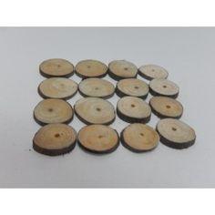 RODAJAS REDONDAS PINO 3-5cm (40 uds) #natural #madera #materiales #decoración