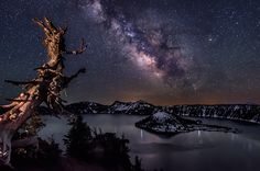 Milky Way | Crater Lake, Oregon