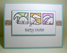 Clean&Simple 178 - Happy Easter by Ardyth - Cards and Paper Crafts at Splitcoaststampers