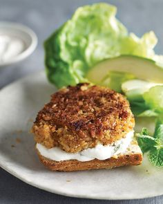 Rice and Bean Burger | Whole Living