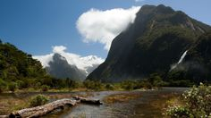 mountains landscapes nature New Zealand rivers land - Wallpaper (#1942237) / Wallbase.cc