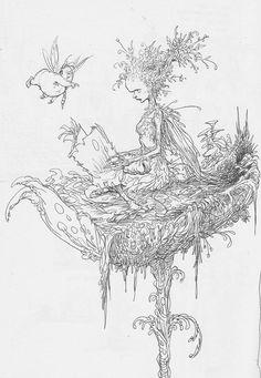 Fat Fairy - Chris Riddell