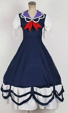 Camplayco Touhou Project Kamishirasawa Keine Cosplay Costume-made * More info could be found at the image url.