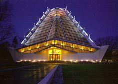 Beth Sholom Synagogue, Elkins Park PA | Frank Lloyd Wright