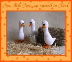 """Häkelanleitung """" Kleine Gans"""" from Babsie´s Hook by DaWanda.com"""