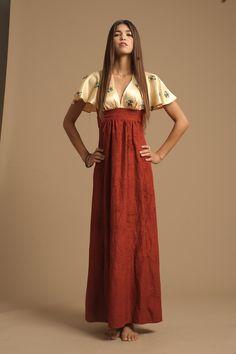 Hippie Vintage Maxi Dress