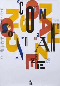 Bruno Monguzzi, Consonanze, Museo Cantonale d'Arte Lugano, 2000