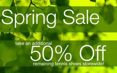 Spring Sale - 50% off all remaining athletic shoes storewide! | Alegria Cherokee Store #newbalance #asics #kswiss #scrubs #uniforms #nurse #nurses #nursing #medical #apparel #CLT #CharlotteNC
