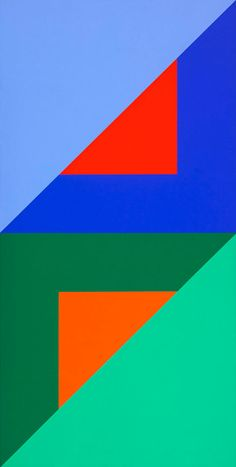 KARL BENJAMIN geometric art quilg http://decdesignecasa.blogspot.it quilt inspiration