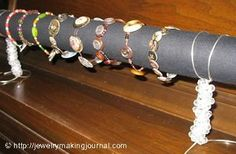 Display maken voor zelfgemaakte armbanden - Fimo- en ander creatief gefröbel