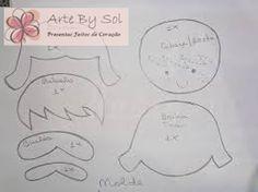 ARTE BY SOL: Inspiração e Molde de Aviador