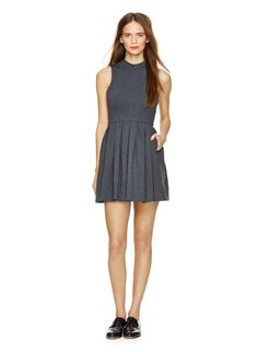 TALULA KASUGA DRESS - Softly structured in double-knit ponte, flirty with a short, sweet silhouette