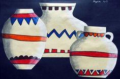 Artsonia Art Museum :: Artwork by maria420; Native American Pottery, grade 4