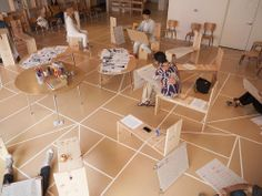 "Anna Craycroft | C'Mon Language : Designed to draw out and display different means of communication, the evolving installation workshops, archives, and showcases a variety of perspectives on the common query: ""How do we make ourselves understood?"" Modeled after some of the core concepts in the early education pedagogy of Reggio Emilia, this open-ended question or ""provocation"" is be explored through every component of the exhibition."