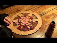 WoolWench Circular Weaving - YouTube