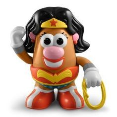DC Comics Wonder Woman Mrs. Potato Head: Amazon.ca: Home & Garden