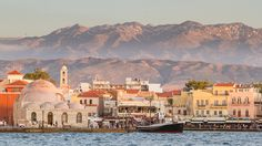 Chania and the White Mountains by Mathew Grimm