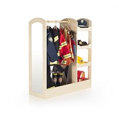 http://www.yourhomeandkitchen.info/guidecraft-see-and-store-dress-up-center-natural-g98102-review/ - Features three storage shelves on one side for toys shoes and dramatic play items; a deep bottom with sides; a...