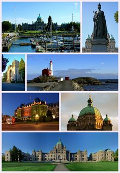 Victoria, Canada  There are allot of beautiful cities in Canada.  I would like to go to a few more.