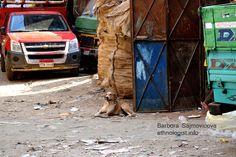 The resting dog in the Garbage City. Photo: Barbora Sajmovicova, 2011, Nikon D3100.