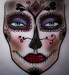 FACE CHART DESIGN BY LAWANIA MAKEUP ARTIST
