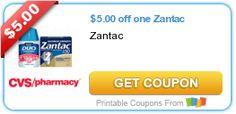 $5.00 off one Zantac