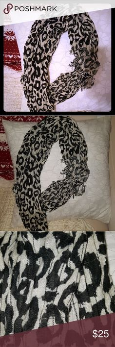 Bebe leopard print scarf **price drop** Leopard print scarf from bebe. In as good condition as when I bought it. bebe Accessories Scarves & Wraps