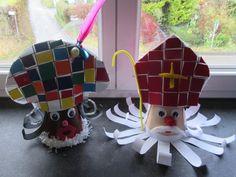 Art Plastique, Crafts For Kids, Clowns, Christmas Ornaments, Holiday Decor, School, Christmas Activities, Bricolage Noel, Preschool