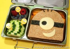 Despicable Me Minion Kids Bento School Lunch