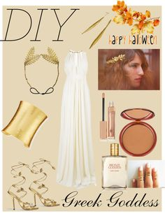 """#DIY Greek Goddess"" by samantha-sweets on Polyvore"