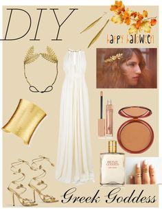 """#DIY Greek Goddess"" by samantha-sweets on Polyvore"