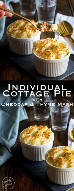 Cottage pie is such a comforting and delicious family meal. And this version is simple to prepare ahead and can be easily cooked from frozen! A sure family favourite! Recipe from Sprinkles and Sprouts   Delicious food for easy entertaining.