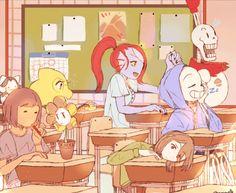 UT fanart - Monster class time is best class time