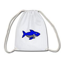 Geschenke Shop | Haifisch - Turnbeutel Shops, Drawstring Backpack, Backpacks, Bags, Fashion, Sports Activities, Gymnastics, Pisces, Handbags