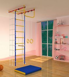 lofty ideas indoor jungle gym. Kids Playground Play Set for Floor  Ceiling Indoor Training Gym Sport with Accessories Equipment Climber Gymnastic Swing Rings Climbing Rope